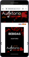 Carta Digital Qr - Cafe Auditorio