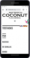 Carta Digital Qr - Coconut